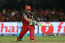 AB de Villiers reverse-sweeps Praveen Kumar for four, Gujarat Lions v Royal Challengers Bangalore, IPL 2016, Qualifier 1, Bangalore, May 24, 2016