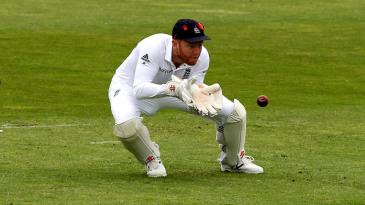 Jonny Bairstow takes a catch