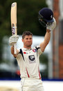 Sean Dickson scored an unbeaten 207, Derbyshire v Kent, County Championship, Division Two, Derby, 3rd day, May 24, 2016