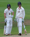 Paul Collingwood and Keaten Jennings put on a steady stand, Warwickshire v Durham, County Championship, Division One, Edgbaston, 3rd day, May 24, 2016