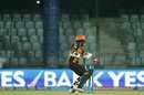 Shikhar Dhawan chops one on to the stumps, Sunrisers Hyderabad v Kolkata Knight Riders, IPL 2016, Delhi, May 25, 2016