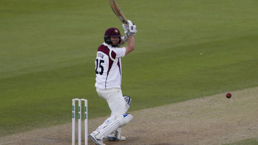 Steven Crook played a defiant innings at No. 7