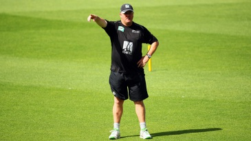 Andy Moles directs training during a New Zealand nets session