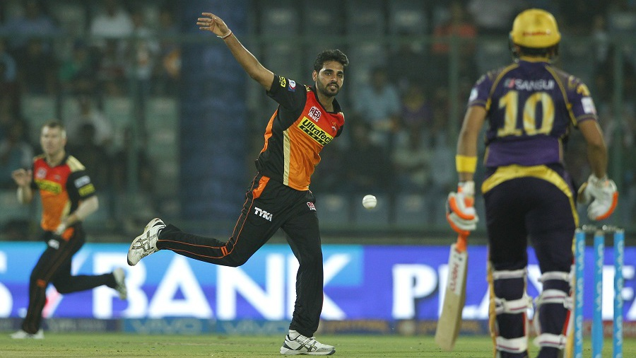 Bhuvneshwar Kumar took 3 for 19 in four overs