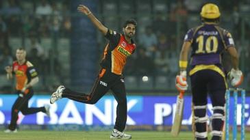 Bhuvneshwar Kumar took 3 for 19 in four overs