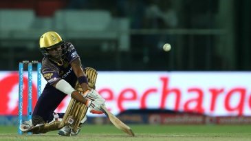 Suryakumar Yadav plays the paddle sweep