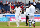 Joe Root reached a half-century from 70 balls, England v Sri Lanka, 2nd Test, Chester-le-Street, 1st day, May 27, 2016