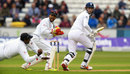 Angelo Mathews held a diving grab at slip to dismiss Alex Hales, England v Sri Lanka, 2nd Test, Chester-le-Street, 1st day, May 27, 2016