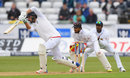 James Vince gets forward to drive, England v Sri Lanka, 2nd Test, Chester-le-Street, 1st day, May 27, 2016