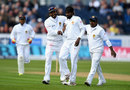 Nuwan Pradeep picked up his second wicket, England v Sri Lanka, 2nd Test, Chester-le-Street, 1st day, May 27, 2016