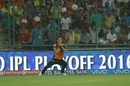 Trent Boult takes a simple catch at third man, Sunrisers Hyderabad v Gujarat Lions, IPL 2016, Delhi, May 27, 2016
