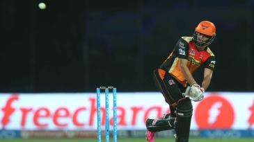 Bipul Sharma flicks for six over deep backward square