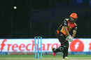 Bipul Sharma flicks for six over deep backward square, Sunrisers Hyderabad v Gujarat Lions, IPL 2016, Delhi, May 27, 2016