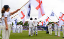 Moeen Ali and Chris Woakes resume England's innings on the second morning, England v Sri Lanka, 2nd Test, Chester-le-Street, 2nd day, May 28, 2016