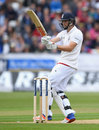 Chris Woakes pulls through the leg-side, England v Sri Lanka, 2nd Test, Chester-le-Street, 2nd day, May 28, 2016