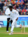 Nuwan Pradeep claimed the wicket of Stuart Broad, England v Sri Lanka, 2nd Test, Chester-le-Street, 2nd day, May 28, 2016