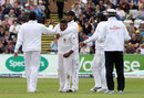 Rangana Herath finally notched his 300th Test wicket, England v Sri Lanka, 2nd Test, Chester-le-Street, 2nd day, May 28, 2016