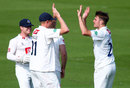 Stuart Whittingham picked up a wicket with his first ball, Sussex v Derbyshire, County Championship, Division Two, Hove, 1st day, May 28, 2016