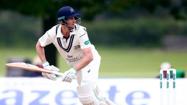 Adam Voges started well against Hampshire