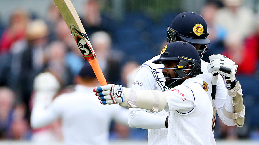 Kaushal Silva reached a fighting half-century