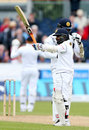 Kaushal Silva reached a fighting half-century, England v Sri Lanka, 2nd Test, Chester-le-Street, 3rd day, May 29, 2016