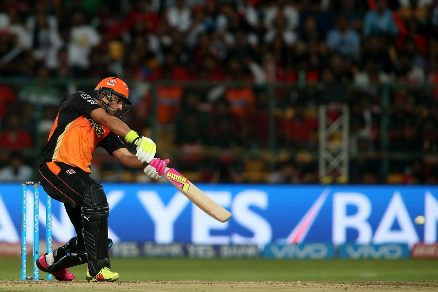 Yuvraj Singh's languid drives and flicks pushed Sunrisers towards a 200-plus score