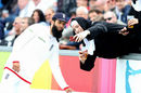 Moeen Ali poses for a selfie with a spectator dressed as a nun, England v Sri Lanka, 2nd Test, Chester-le-Street, 3rd day, May 29, 2016