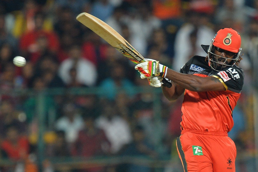 Chris Gayle gave Royal Challengers' chase a blazing start with a 25-ball fifty
