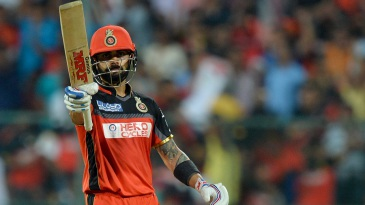 Virat Kohli reached his fifty in 32 balls