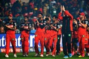 Royal Challengers Bangalore complete a lap of honour around the Chinnaswamy stadium after their loss, Royal Challengers Bangalore v Sunrisers Hyderabad, IPL 2016, final, Bangalore, May 29, 2016