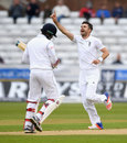 Milinda Siriwardana fell to James Anderson for 35, England v Sri Lanka, 2nd Test, Chester-le-Street, 4th day, May 30, 2016