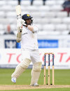 Rangana Herath carves over the off side, England v Sri Lanka, 2nd Test, Chester-le-Street, 4th day, May 30, 2016