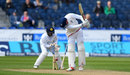 Alex Hales was bowled by Milinda Siriwardana for 11, England v Sri Lanka, 2nd Test, Chester-le-Street, 4th day, May 30, 2016