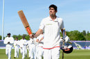 Alastair Cook salutes the crowd after victory at Chester-le-Street, England v Sri Lanka, 2nd Test, Chester-le-Street, 4th day, May 30, 2016