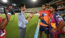 R Ashwin and M Ashwin do an interview together, Sunrisers Hyderabad v Rising Pune Supergiants, IPL 2016, Hyderabad, April 26, 2016