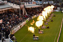 The flamethrowers were in regular action, Sussex v Somerset, NatWest T20 Blast, South Group, Hover, June 1, 2016
