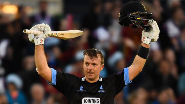 Chris Nash made his maiden T20 hundred