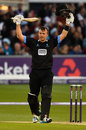 Chris Nash made his maiden T20 hundred, Sussex v Somerset, NatWest T20 Blast, South Group, Hover, June 1, 2016