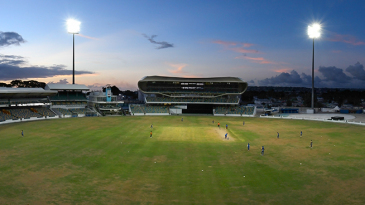 A view of the Kensington Oval, Barbados