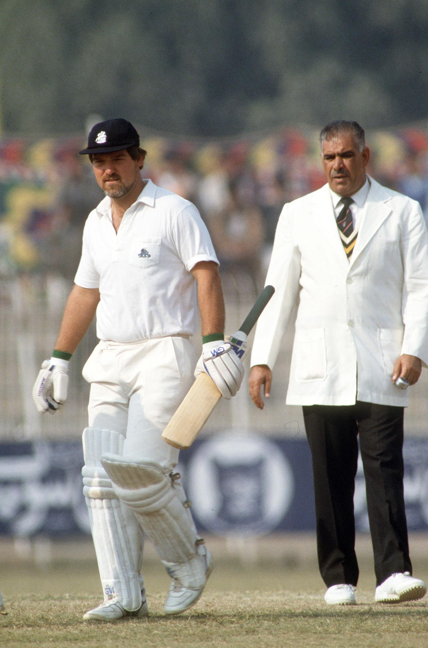 Gatting v Rana: surely the England captain should have copped some punishment for his behaviour?