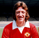 Arnie Sidebottom with Manchester United, England, August 1973