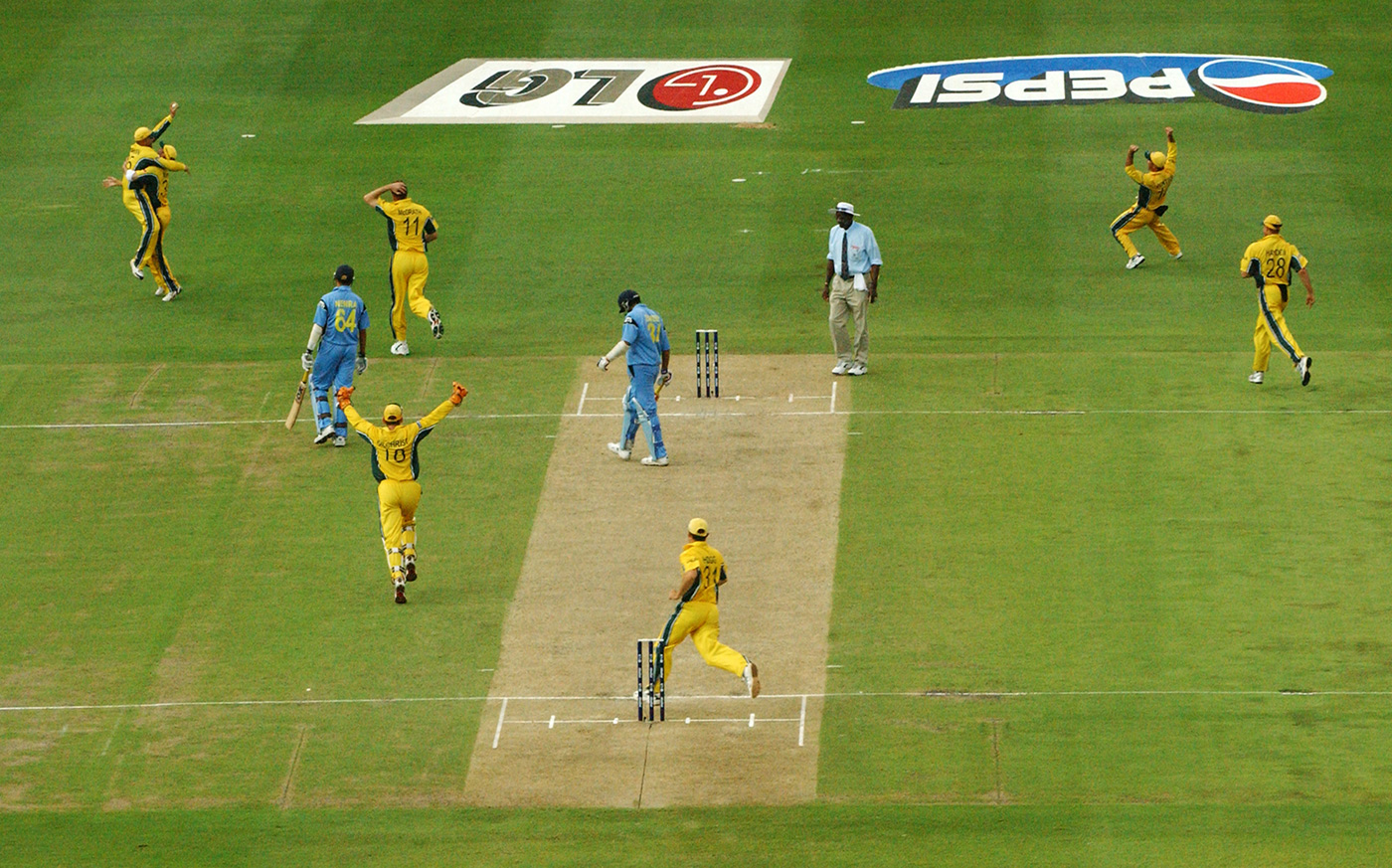 Fat lady sings, India wail: Australia take the last wicket to win the 2003 World Cup