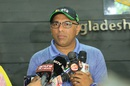 Bangladesh coach Chandika Hathurusingha addresses the media at the BCB headquarters, Mirpur, June 2, 2016