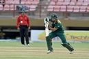 Rilee Rossouw targets the off side, West Indies v South Africa, ODI tri-series, 1st match, Providence, June 3, 2016