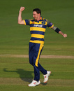 Dale Steyn collected 3 for 22, Glamorgan v Hampshire, NatWest T20 Blast, South Group, Cardiff, June 3, 2016