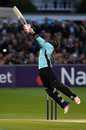 Stretch for it: Dwayne Bravo hit 30 off 14 balls, Sussex v Surrey, NatWest T20 Blast, South Group, Hove, June 3, 2016