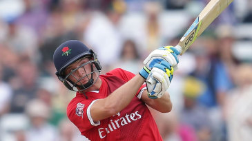 Jos Buttler cut loose toward the end of the innings