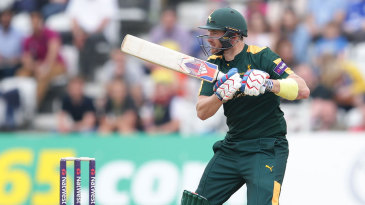 Riki Wessels helped get the innings off to a flying start