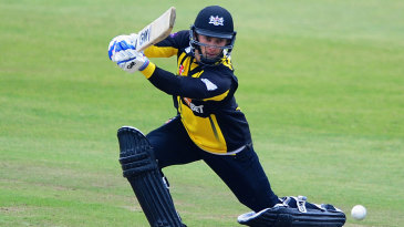 Chris Dent was one of several batsmen to flourish against Glamorgan's attack