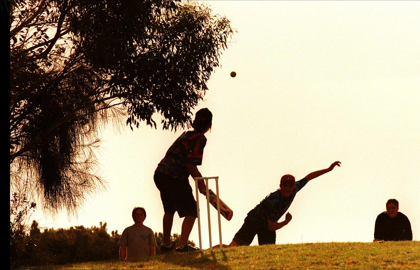 Real cricket heartbreak is best achieved in a backyard setting